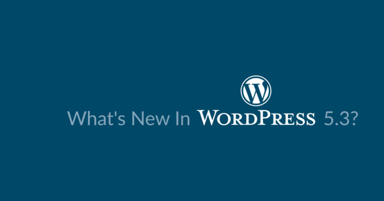 WordPress 5.3 RC1