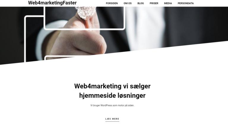 web4marketing hjemmeside løsninger