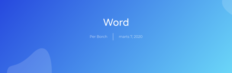 imbedded word with download