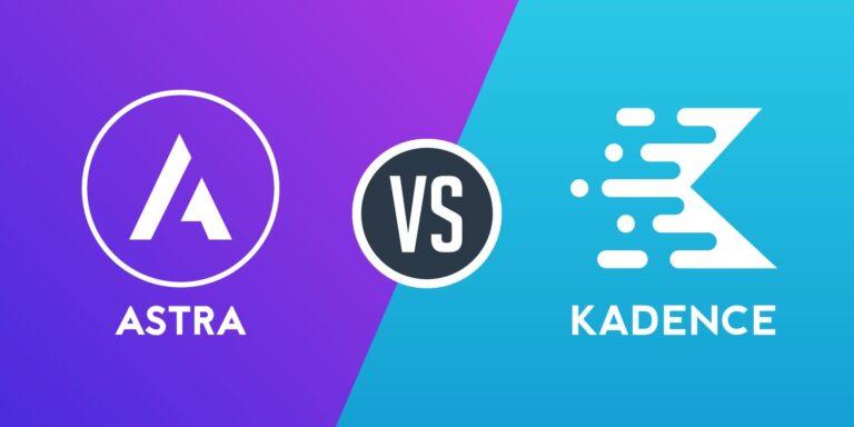 Astra vs Kadence hvilket WordPress tema er det bedste